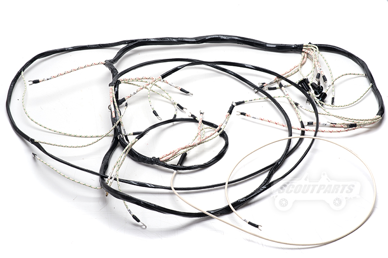 Wiring Harness - Main Under Dash 55-53 - R-Series