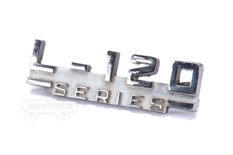 Emblem - L-120 Series used
