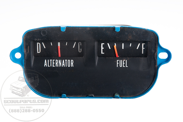Rebuilt and Renewed Gauges: Fuel & Amp, Temp and Oil