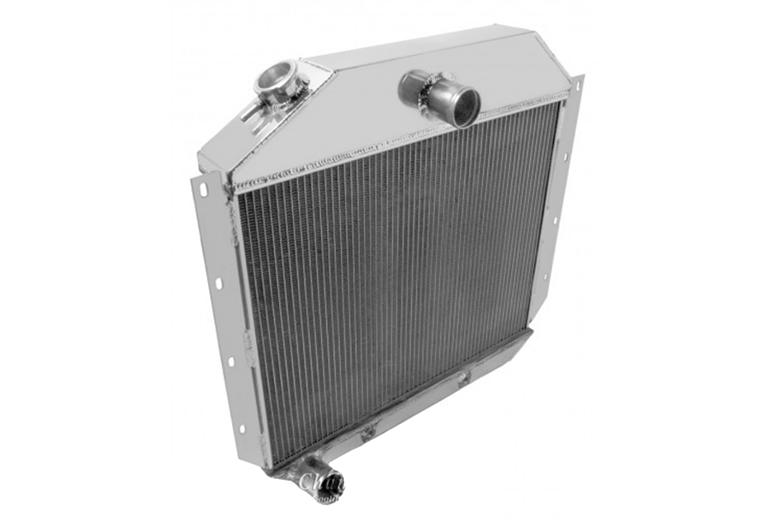 Radiator, Aluminum - 1950-1957 Picups, Travelall, & Travelette.