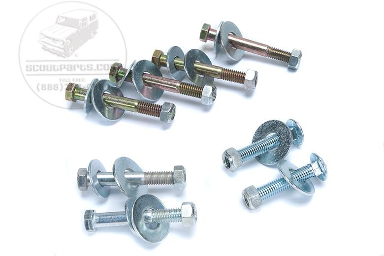 Body mount bolt kit - Travelall  & pickup 69-75