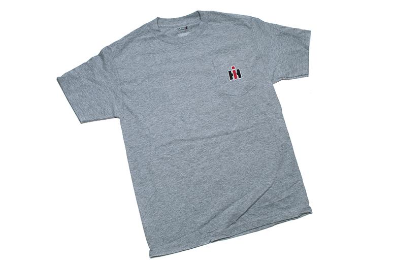 Grey-Heather IH Pocket T-Shirt