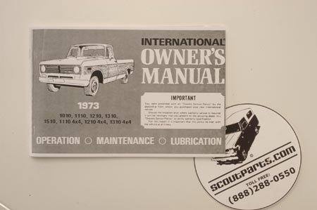 1973 Pickup Manual!