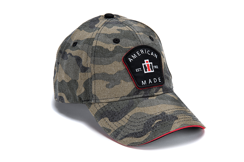 IH Washed Camo Patch Cap, Hat