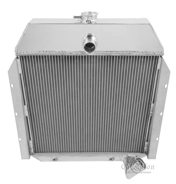 Radiator, Aluminum - 1941-1949 Pickups