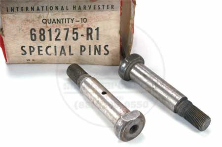 Front Spring Rear Lower Mounting Pin - International Harvester  - New Old Stock