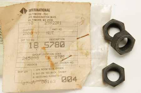 Nut - International Harvester - New Old Stock