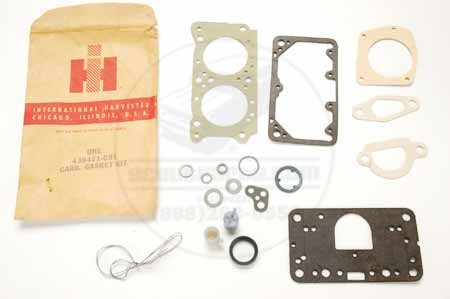 Carburetor Gasket Kit  - New Old Stock International Harvester