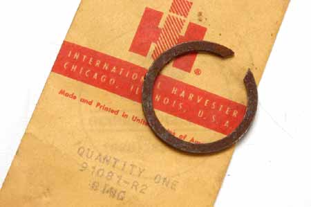 Snap Ring- new old stock - International Harvester