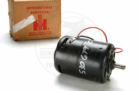 Heater Motor  - New Old Stock International Harvester IH
