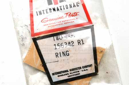 Ring- New Old Stock - International Harvester