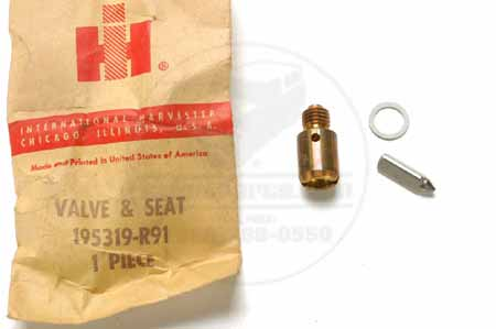 New Old Stock Valve & Seat