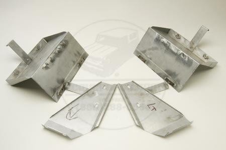 69-75 Pickup & Travelall  Battery Boxes, NEW
