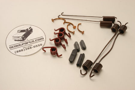Brake Hardware Kit  For Dana-60 Rear And Drum Front Axles