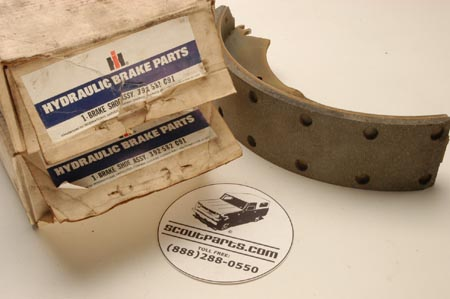 Brake Shoes, New Old Stock