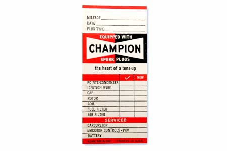 Champion Service Form No. A-702