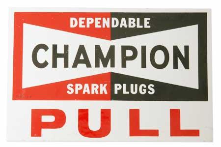 Champion Sticker -
