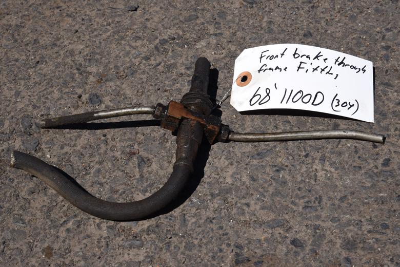 Brake line fame pass through - used