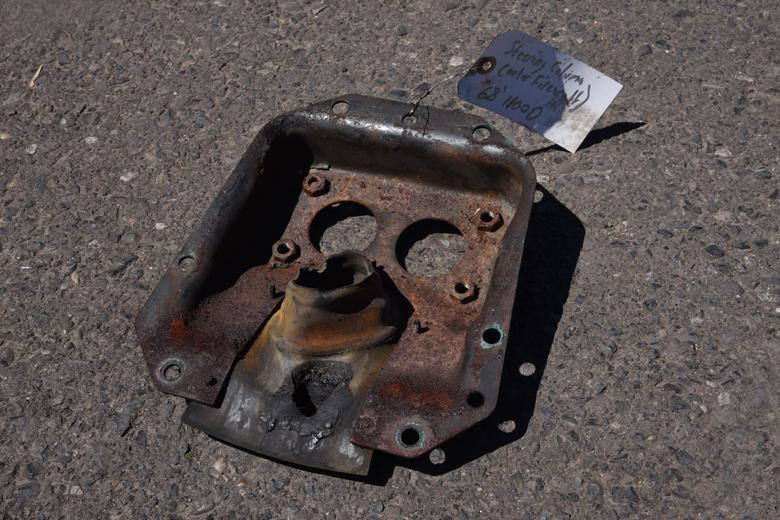 plate clutch brake steering column - used