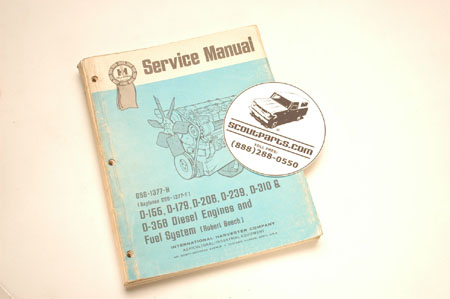 Service Manual - Diesel Engines And Fuel Systems