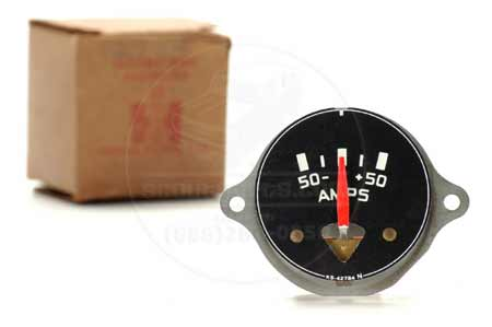 Gauge, AMP, White Lettering New Old Stock
