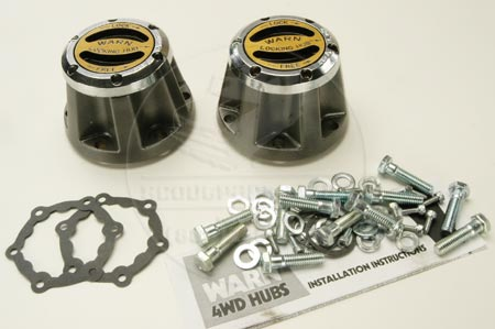Warn Front Locking Hubs