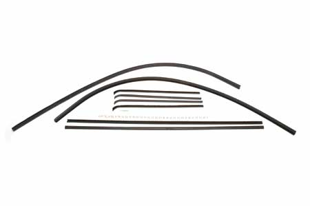 L, R, S Front Door Window Kit Pickup/Travelall
