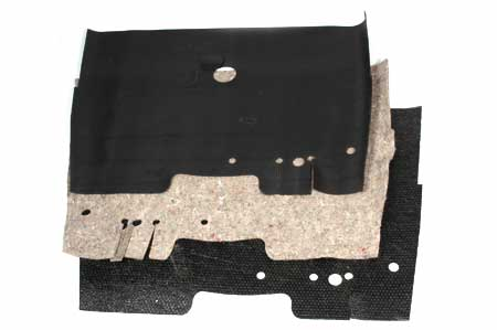 Sound Deadener, Carpet & Mat Set Floor Shift for International KB1-KB7