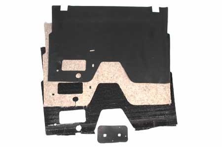 Sound Deadener, Floor Mat And Pad For Column Shift L, R & S Series