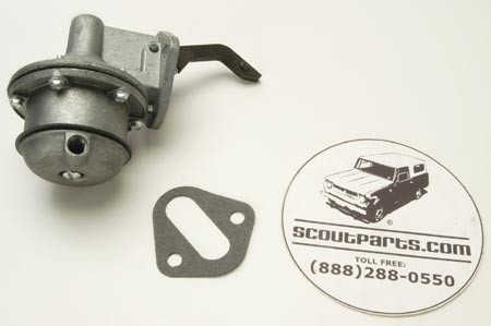 Fuel Pump For Inline IH Engines, Without Glass Bowl