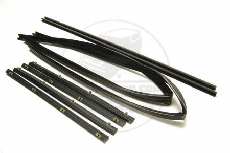 Window Door Seal Kit, Front Left & Right Roll Up