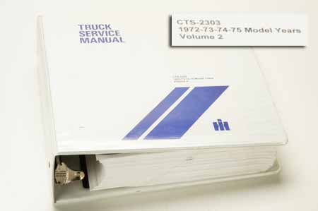 International Travelall Truck Service Manual Volume 2 NEW (used Is Rarely Available)
