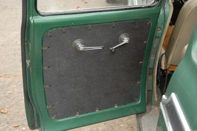 Inner Door Panel- Rear Doors (Travelall And Travelette)
