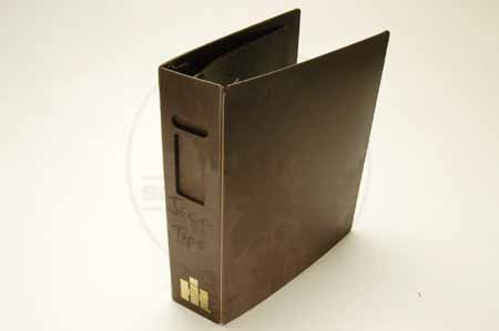 IH Brown Plastic Binder