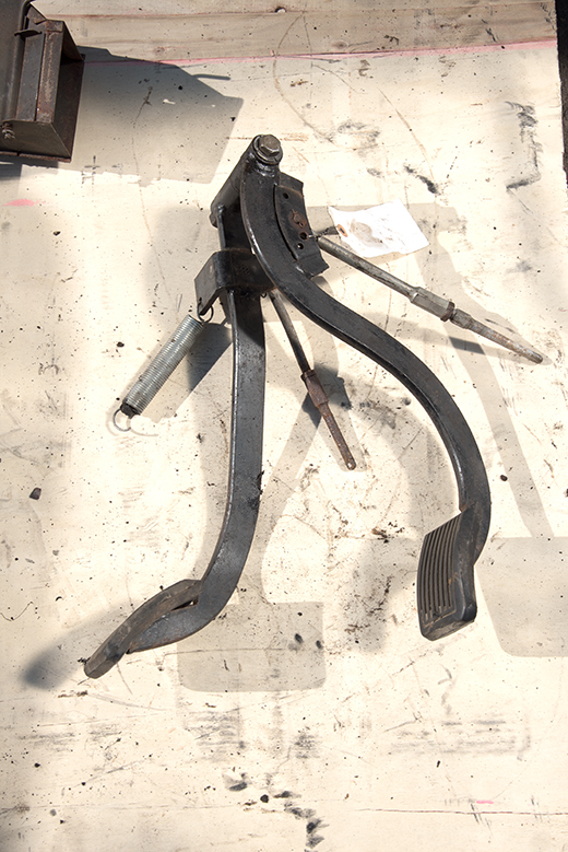 Clutch and Brake Pedal - used