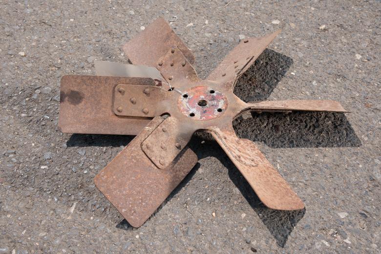 Fan V-8 - used
