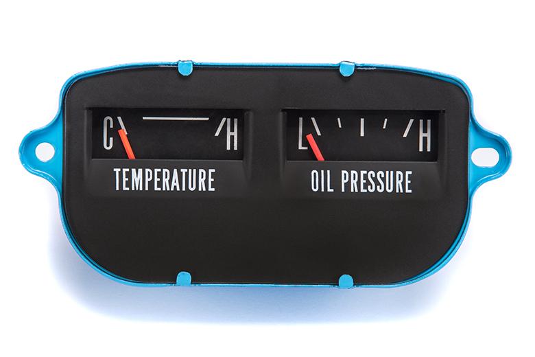 Gauge - Fuel - Amp, Temp - Oil, Rebuilt And Renewed