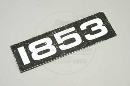 1835 IH Name Plate