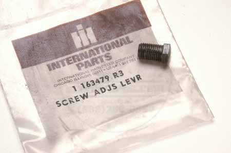 Adjustment Lever Screw - International Harvester  - New Old Stock